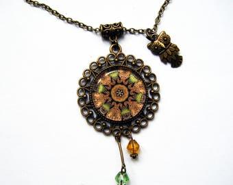 """Middle Earth"" pendant"