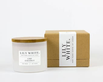 Lime + Coconut Candle (385 g)