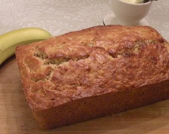 Tasty Gifts Secrets Inn Banana Oatmeal Bread downloadable PDF or JPEG Eating Cleaner recipe file