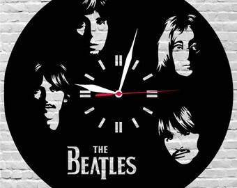 Wooden clock Queen Freddie MercuryMusic gift decorRock