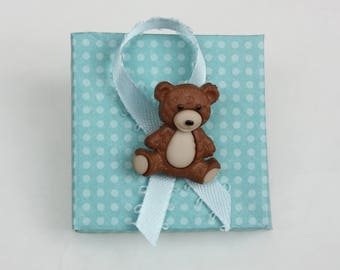 Baby shower favor boxes for a boy - 5 items per order