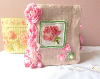 Needle book, Gift for women, Pink needle - book, Mother's day gift, Gift for her