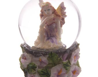 Crystal Glitter Ball Fantasy Fairy (3.6 inches)