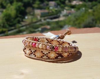 "woven double bracelet ""Arequipa"""