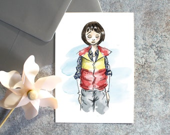 Carte Postale-Will-Stranger Things