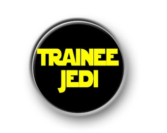 """STAR WARS / 1"""" / 25mm / pin button / badge / film / The Force / Storm Troopers / Jedi / Millennium Falcon / Luke / Solo / Vader / Yoda"""