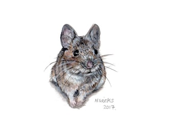 Original Mouse Painting