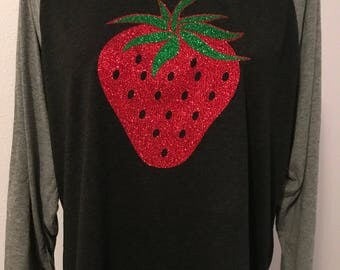 Strawberry Raglan