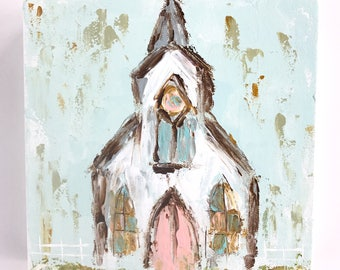 Church Painting . Church Art . Spiritual Art . Spiritual Painting