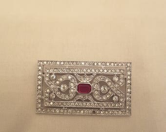Art deco brooch '