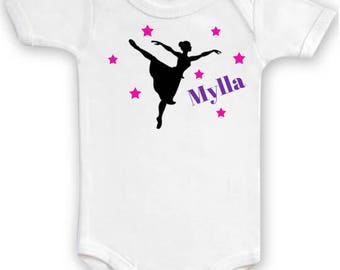 "Custom Bodysuit ""Ballerina dancer"""
