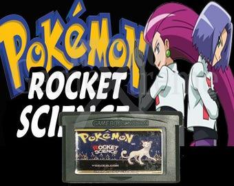 Pokemon Rocket Science fan made hack GBA Gameboy Advance