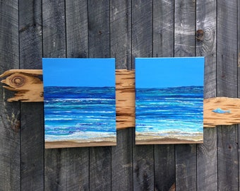 Not a Cloud in the Sky, waves, ocean, shore, beach