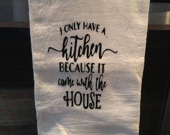 Decorative Kitchen towel