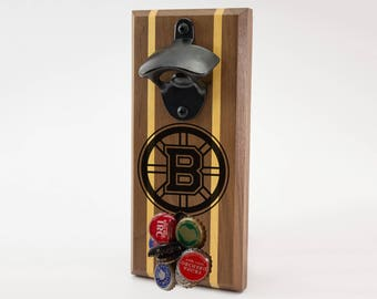 Boston Bruins Magnetic Bottle Opener