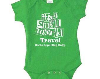 Disney Baby Shirt Its a Small world travel  Shirt It's a Small world shirt  Disneyland Shirt Disney World Shirt Magic Kingdom Shirt