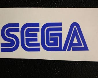 SEGA Decal Any Size Any Colors