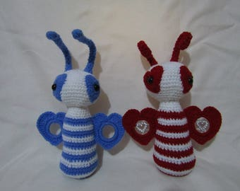 Amigurumi Love Bugs - Bundle