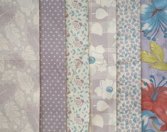 Patterns of History - A Kansas City Star Collection - by Barbara Brackman - for Moda - Fat Quarter Bundle - 6 pieces