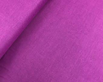Magenta Peppered Cotton from Studio E Fabrics, Shot Cotton, Purple Peppered Cotton