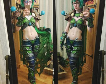 Ysera FULL READY cosplay costume from World of Warcraft game by Blizzard
