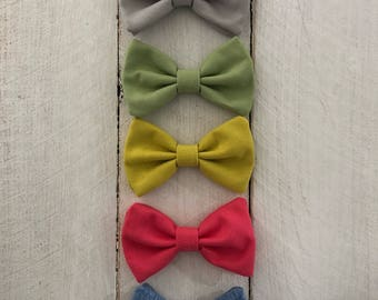 Small Hair Bows/Clip-on Bow Ties