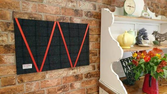 Hand Crafted Harris Tweed House Design memo board