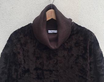 Vintage Celine Long Oversized Sweater Coat