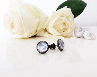 Sale-40% Full Moon earrings-Full Moon earrings