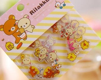 Rilakkuma or Sentimental Circus sticker 80