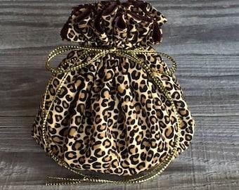 Jewelry Travel Bag, Jewelry cinch bag, Cinch Bag, Drawstring Bag, Jewelry Bag, Jewelry Pouch