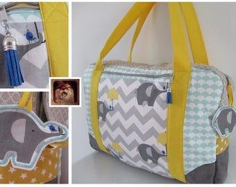 "TO order: Diaper bag ""Loulies"" fully customizable"