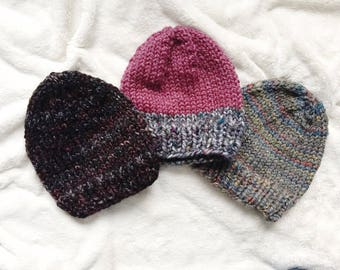Adult Beanies // Ski Hats // Ready to Ship