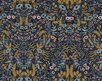 Menagerie Tapestry Midnight  -  Rifle Paper Co,