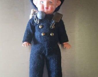 Vintage Chimney Sweep Doll
