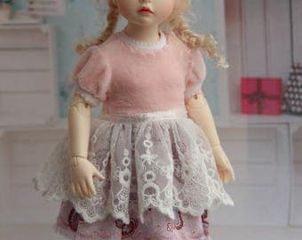 Outfit for BJD - Dress for B.I.D. Iplehouse or Momocolor (26 cm)