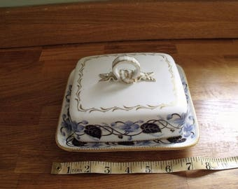 Cauldon Limited England Butter or Cheese dish
