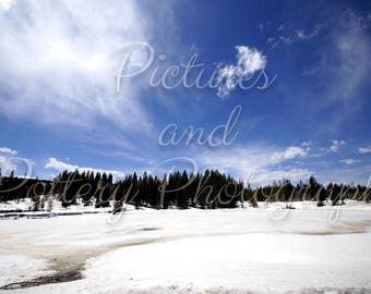 Frozen Lake Photography Print