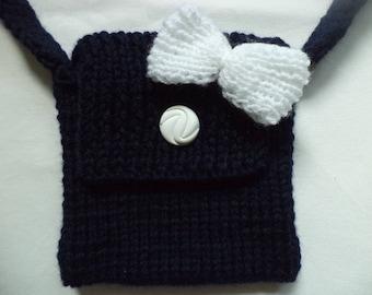 knitted bag 17cm