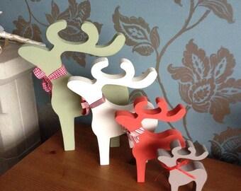 Handmade Reindeer Set