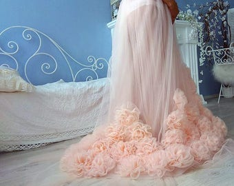 Maternity tulle Pregnancy skirt Maternity photoshoot Maternity outfit Maternity gown