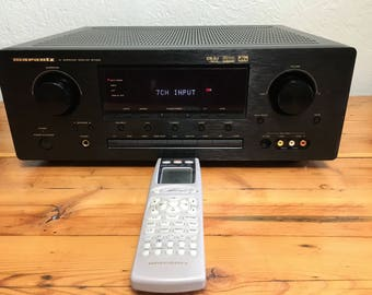 Vintage Marantz SR7200 Stereo Receiver 110 WPC 6.1 Channels 660 Watts Surround Sound Audiophile Hi-Fi Amplifier Tuner Radio Learning Remote