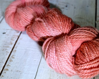 Natural Dyed Yarn - Indie Dyed Yarn - DK - Madder