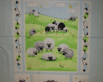 World of Susybee Quilt panel 36x44""