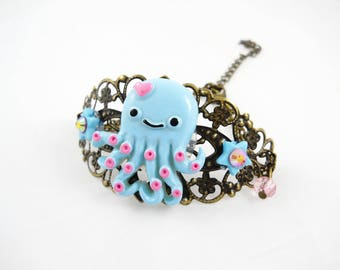 Kawaii Octopus - Octupus - Octopus bracelet