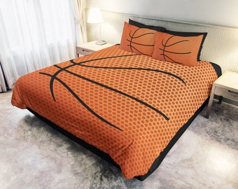 Basketball bedding etsy - Housse de couette basket ...