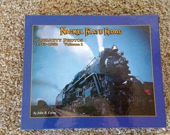 Nickel Plate Road, Publicity Photos, 1943-1952, Volume 1, Joseph B Corns , railroad book, railroad memorabilia, train book, railroad history