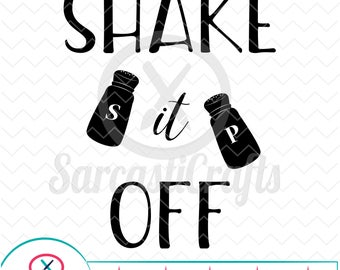 Shake It Off - Decor Graphics - Digital download - svg - eps - png - dxf - Cricut - Cameo - Files for cutting machines