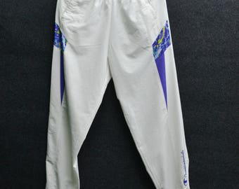 CHAMPION Tracksuit Vintage 90's Champion Products Made In Japan Track Pants Tracksuit Size Jaspo O