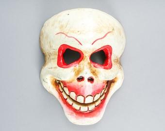 Tibetan Tribal Handmade Wooden Mask
